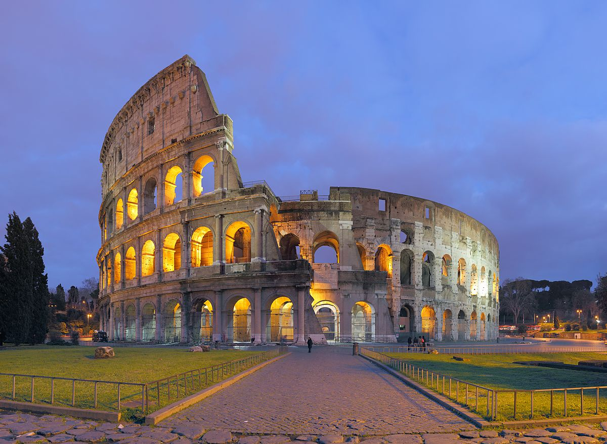 Roman Coliseum (stunning new image from Max) - Max Lyons ...